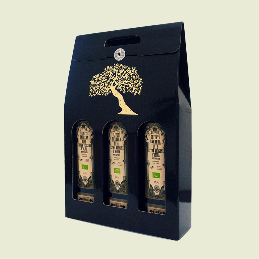 Confezione regalo da 3 bottiglie da 0,75 litri